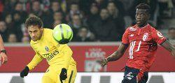 Neymar on song as PSG win at Lille