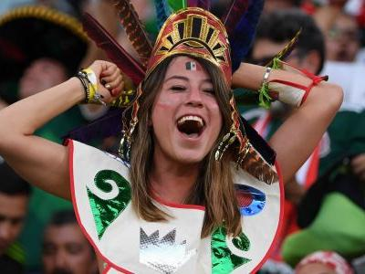 Mexico fans went nuts in the midst of a 3-0 loss after learning that South Korea had saved their World Cup hopes