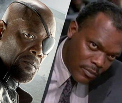 Samuel L. Jackson De-Aged 25 Years For All of Captain Marvel