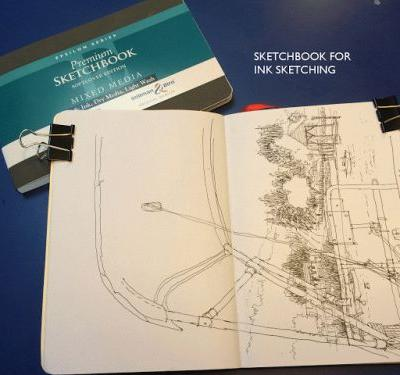 My Sketching Supplies for doing Plein Aire watercolor