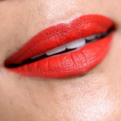 14 Days of Ravishing Red! - Day 7: Matte Orangey Red Lips With Tom Ford Cristiano