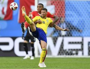 World Cup goal drought continues for Sweden striker Berg