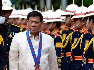 Philippine President Rodrigo Duterte declares martial law