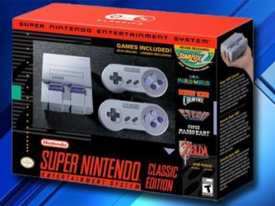 This console is like a Super NES Classic, but it plays any SNES game cart and it's actually in stock