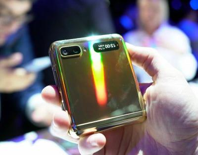 Hands on with the Samsung Galaxy Z Flip