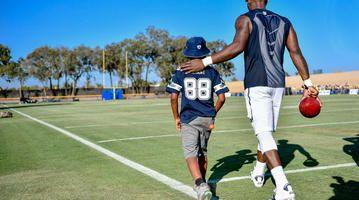 CowBuzz: How Dez Bryant Made A Fan's Dream Come True On His 9th Birthday
