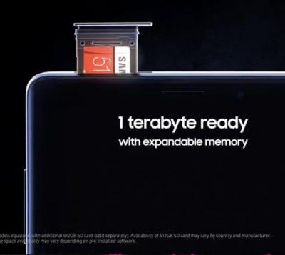 Galaxy Note 9 Storage 1TB And Battery Spec Leaked