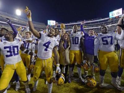 Scott Rabalais Top 25: Final pre-bowl poll finds NY6-bound LSU in top 10