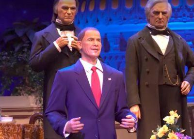 Disney World Reportedly Struggling With How to Add Trump to Hall of Presidents