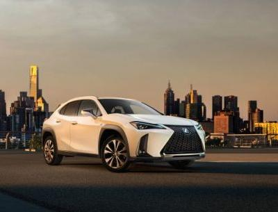 Small-User Experience: Lexus Releases First Pic of UX Compact Crossover