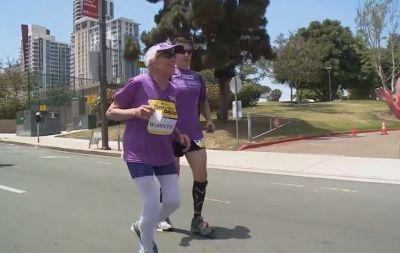 94-year-old marathon runner sets another record