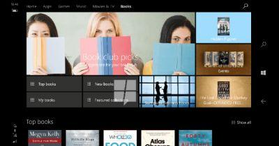 Microsoft to get its own ebook store in Windows 10 update