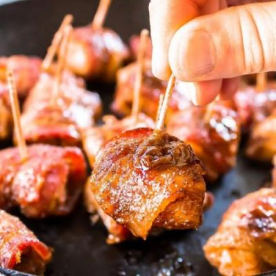 Bacon Brown Sugar Chicken Bites