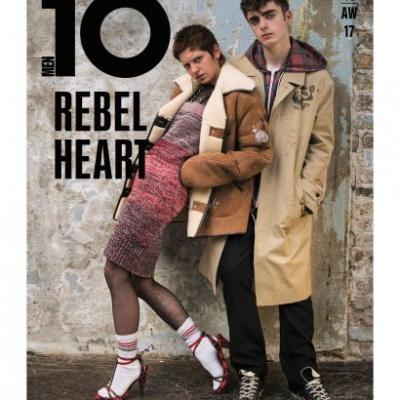 Your First Look At Burberry September 2017 On The Cover Of Issue 46 of 10 Men