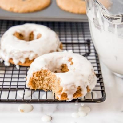 Gluten Free Carrot Cake Donuts