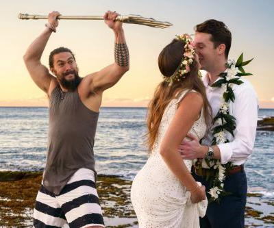That time Jason Momoa crashed a newlyweds' photo shoot