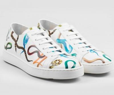 Santoni Collaborates With 'Toilet Paper' Magazine to Create Clean Leather Sneakers