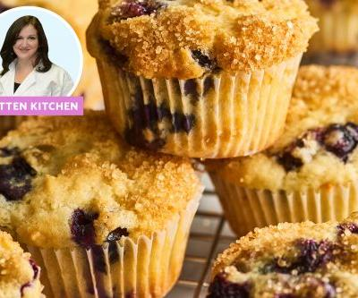 I Made Smitten Kitchen's Famous Blueberry Muffins