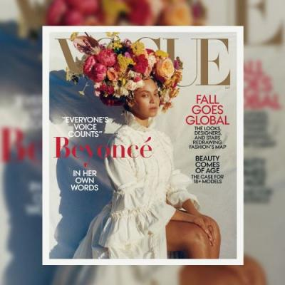 """The Inspiring Reason Beyoncé """"Stripped Down"""" for Vogue's September Cover"""