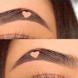 People Are Carving Hearts Into their Brows, and the Internet Doesn't Love It
