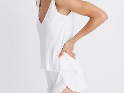 Steph Is Coveting This Dreamy, Lightweight PJ Set Right Now