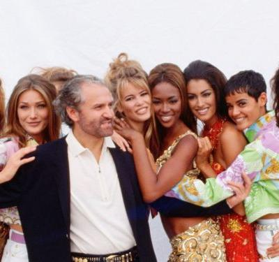 To Celebrate The 20th Anniversary Of Gianni Versace's Death, A Supermodel Reunion
