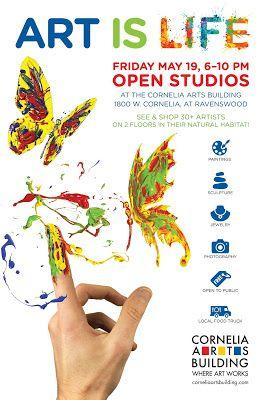 Cornelia Arts Bldg. May 19 Open House