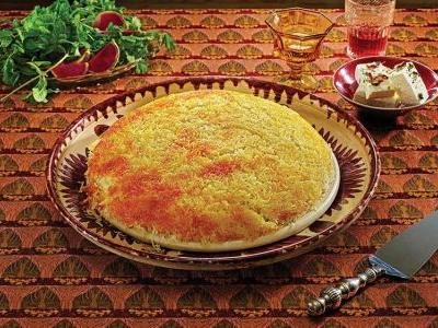 Steamed Saffron Rice with Tahdig