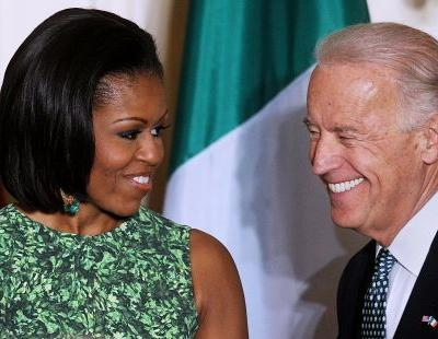 These Tweets About Joe Biden's 2020 Bid Are Calling For VP Michelle Obama