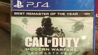 Call of Duty: Modern Warfare Remastered standalone leaks again, releasing this month or even this week - rumour