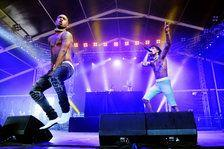 Rae Sremmurd Powerglides Through Selfie-Filled Set at Billboard Hot 100 Festival