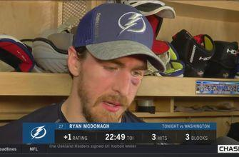 Ryan McDonagh on holding off the Capitals late in Game 5