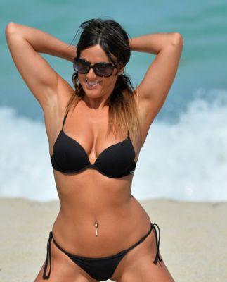 Breathtakingwomen:Claudia Romani at a beach, Miami