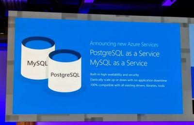 Microsoft launches Azure Database for MySQL and PostgresSQL