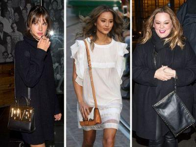 This Week, Celebs Model Eye-Popping Styles from Moschino, Les Petits Joueurs, & Rebecca Minkoff