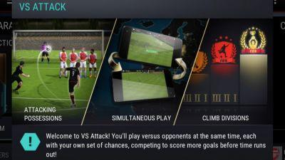 'FIFA Mobile Soccer' Update Adds Real-Time VS Attack Mode and Improves Gameplay