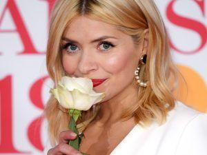 Holly Willoughby Wows On The BRITs Red Carpet Despite Her Illness