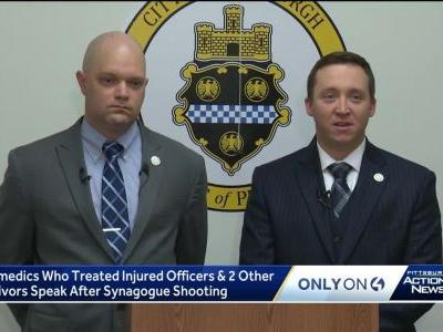 'The worst thing I have ever seen': Pittsburgh tactical paramedics raced to treat victims inside Squirrel Hill synagogue