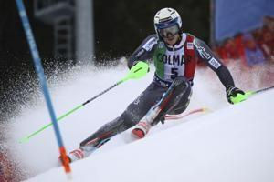 Yule wins slalom after Hirscher and Kristoffersen straddle