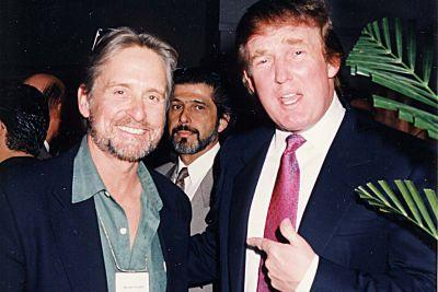 Michael Douglas doesn't think Donald Trump is an idiot