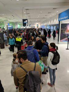 Australian Border Force IT outage causes travel chaos at Sydney International Airport