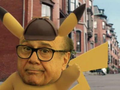 The Detective Pikachu film team actually tested what Danny DeVito would be like as the voice of Detective Pikachu