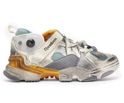 This Vetements x Reebok Genetically Modified Trainer Is Exclusive to Matchesfashion