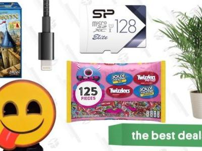 Monday's Best Deals: Halloween Candy, House Plants, Board Games, and More