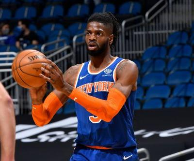 Nerlens Noel stepping up to be Knicks' stabilizing force