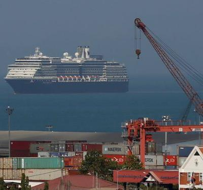 A cruise ship was stranded at sea for 2 weeks after 5 ports rejected it over coronavirus fears - but no one was actually infected