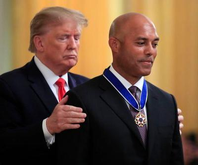 Yankees legend Mariano Rivera receives Presidential Medal of Freedom