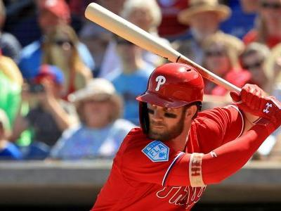 Bryce Harper injury update: Phillies star leaves game after fastball hits ankle