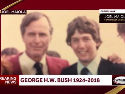 Former Bush campaign volunteer reflects on former president's legacy