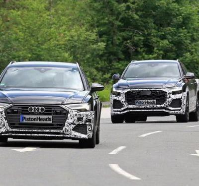 New Audi RS6 Spotted Testing With RS Q8